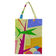 Colorful abstract art Classic Tote Bag