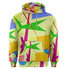 Colorful abstract art Men s Pullover Hoodie