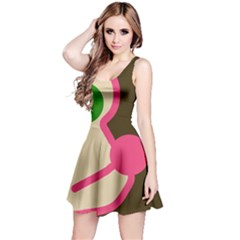 Dog face Reversible Sleeveless Dress