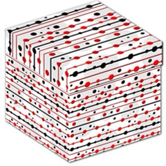 Dots and lines Storage Stool 12