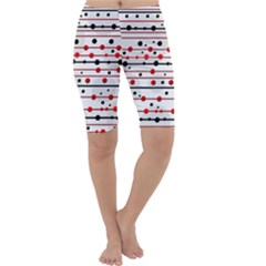 Dots and lines Cropped Leggings