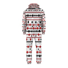 Dots and lines Hooded Jumpsuit (Kids)