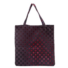 Star Patterns Grocery Tote Bag