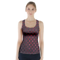 Star Patterns Racer Back Sports Top