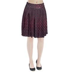 Star Patterns Pleated Skirt