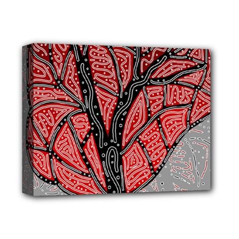 Decorative tree 1 Deluxe Canvas 14  x 11