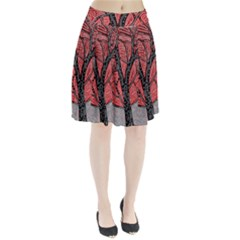 Decorative tree 1 Pleated Skirt