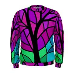Decorative tree 2 Men s Sweatshirt