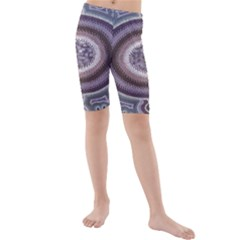 Spirit Of The Child Australian Aboriginal Art Kids  Mid Length Swim Shorts