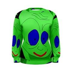 Alien by Moma Women s Sweatshirt