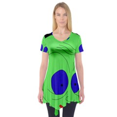 Alien by Moma Short Sleeve Tunic