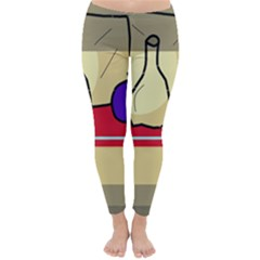 Decorative Art Winter Leggings