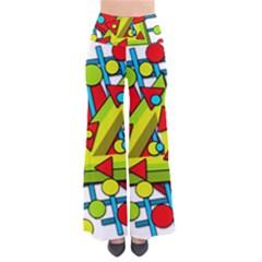 Crazy geometric art Pants