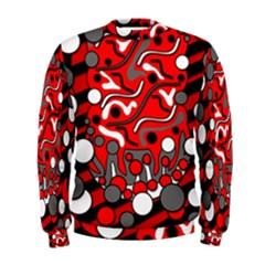 Red mess Men s Sweatshirt