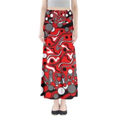 Red mess Maxi Skirts