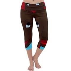 Happy Boy Capri Yoga Leggings