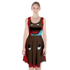 Happy boy Racerback Midi Dress
