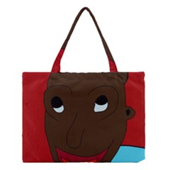 Happy boy Medium Tote Bag