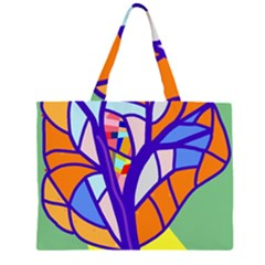 Decorative tree 4 Large Tote Bag