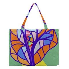 Decorative Tree 4 Medium Tote Bag
