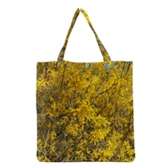 Nature, Yellow Orange Tree Photography Grocery Tote Bag