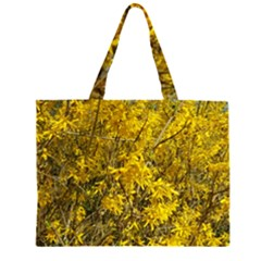 Nature, Yellow Orange Tree Photography Large Tote Bag