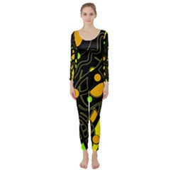 Floating Long Sleeve Catsuit
