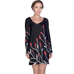 Elegant tree 2 Long Sleeve Nightdress