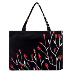 Elegant Tree 2 Medium Zipper Tote Bag