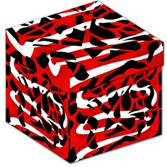 Red chaos Storage Stool 12