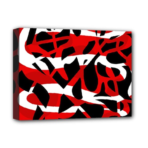 Red chaos Deluxe Canvas 16  x 12