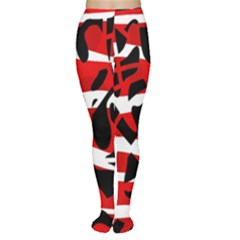 Red chaos Women s Tights