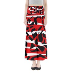 Red chaos Maxi Skirts