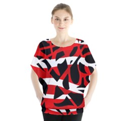Red chaos Blouse