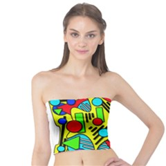 Colorful chaos Tube Top