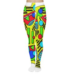 Colorful chaos Women s Tights