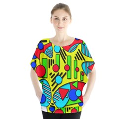 Colorful chaos Blouse