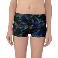 Decorative fish Reversible Boyleg Bikini Bottoms