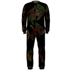 Decorative fish pattern OnePiece Jumpsuit (Men)