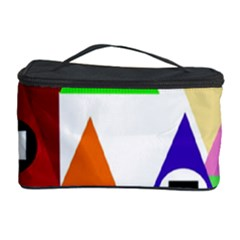 Colorful houses  Cosmetic Storage Case