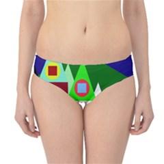 Colorful houses  Hipster Bikini Bottoms