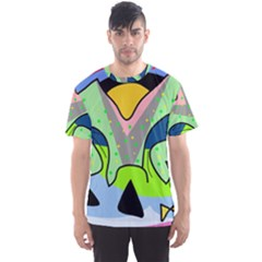 Colorful landscape Men s Sport Mesh Tee