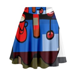 Table High Waist Skirt