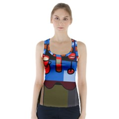Table Racer Back Sports Top