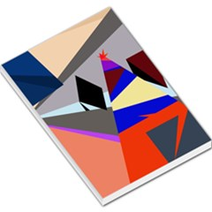 Geometrical abstract design Large Memo Pads