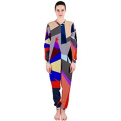 Geometrical abstract design OnePiece Jumpsuit (Ladies)