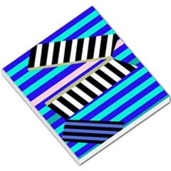 Blue lines decor Small Memo Pads