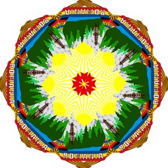 National Emblem Of Romania, 1965 1989  Folding Umbrellas