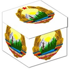 National Emblem Of Romania, 1965 1989  Storage Stool 12