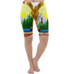National Emblem Of Romania, 1965 1989  Cropped Leggings